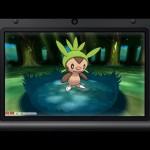 Pokemon X and Y Chespin Screenshot