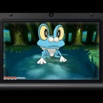 Pokemon X and Y Froakie Screenshot