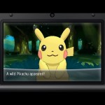 Pokemon X and Y Pikachu Screenshot