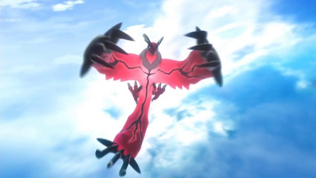 Pokemon X and Y Yveltal Screenshot