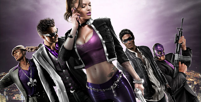 Saints Row series artwork