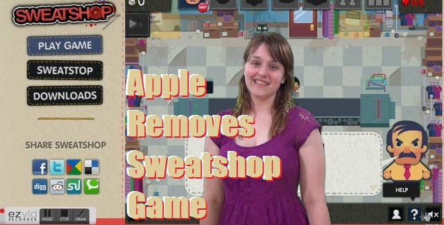Apple Removes Sweatshop Game