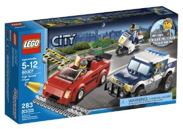 Lego City Undercover cheat code in High Speed Chase set
