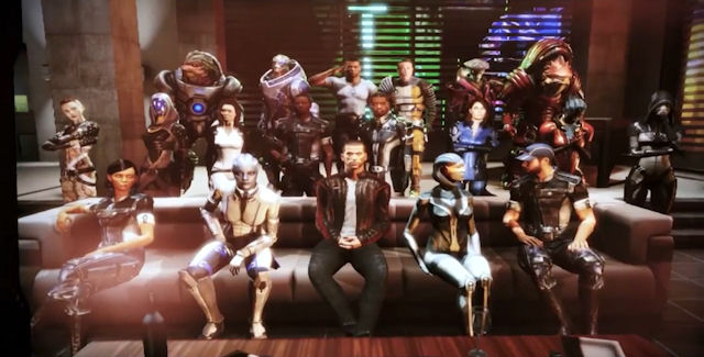 Mass Effect 3 Citadel Walkthrough
