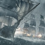 Assassin's Creed 4 Pirate Ships Battle Wallpaper