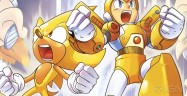 Super Mega Man and Super Sonic In Comic Book Crossover