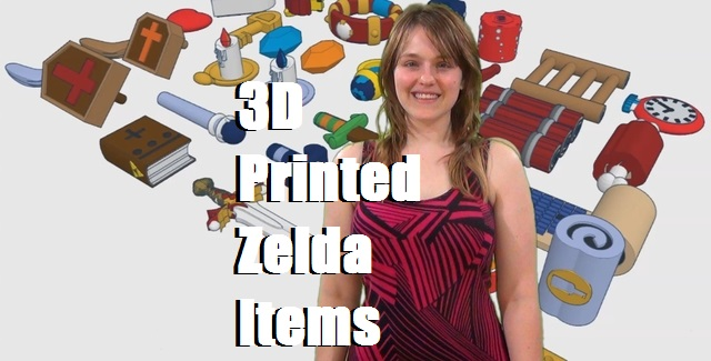 3D Printed Zelda Items