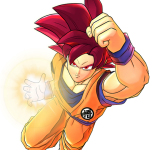 Dragon Ball Z: Battle of Z Goku Super Saiyan God Artwork