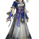 Dynasty Warriors 8 Cai Wenji Artwork