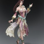 Dynasty Warriors 8 Diaochan Artwork