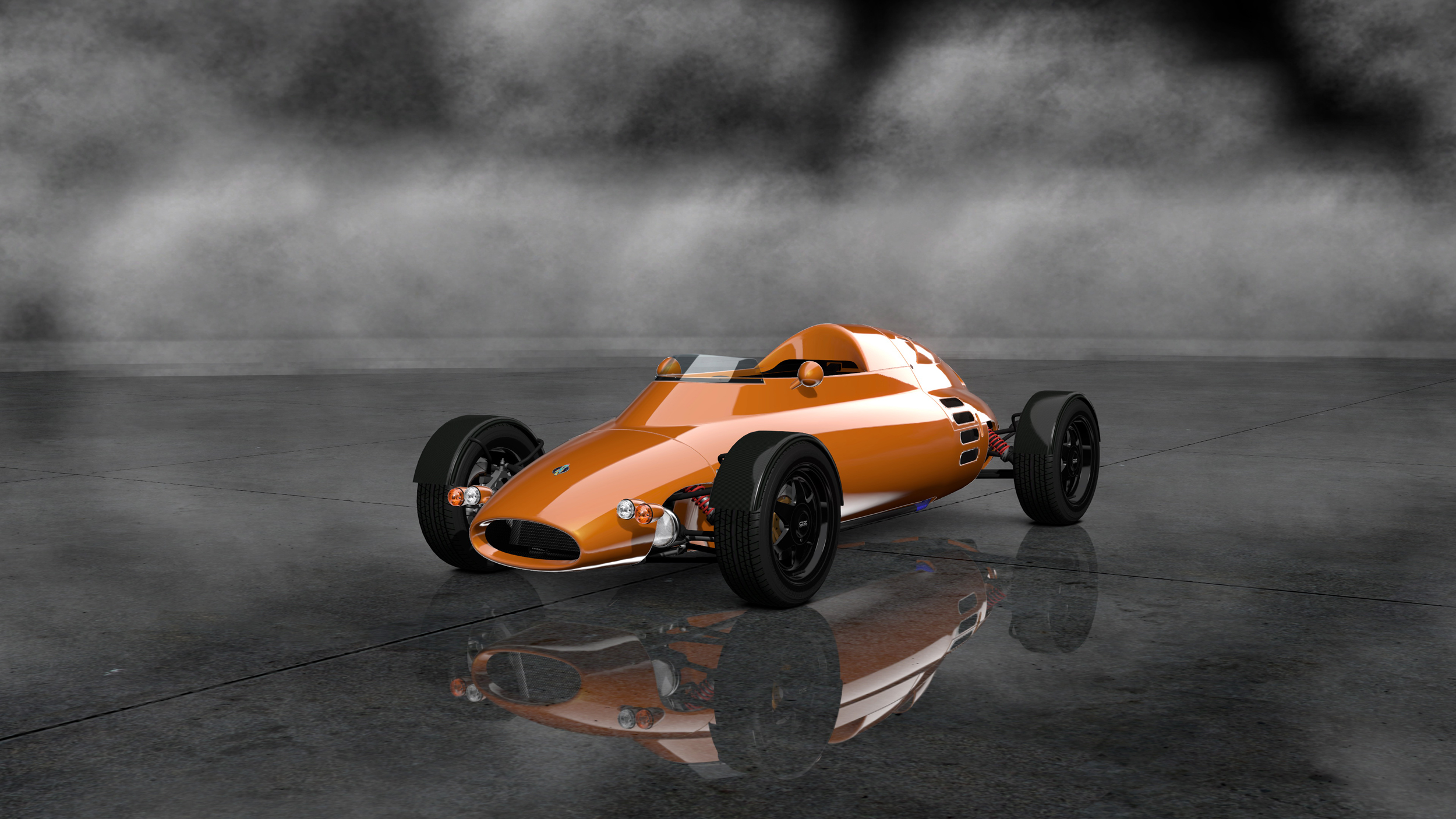 Gran Turismo 6 Light Car Company Rocket '07 Render