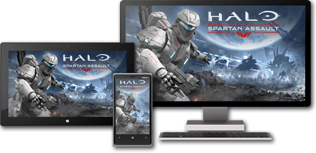 Halo Spartan Assault platforms