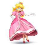 Super Smash Bros Wii U and 3DS Princess Peach Artwork