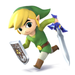 Super Smash Bros Wii U and 3DS Toon Link Artwork