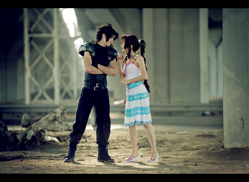 Aerith Zack Best Cosplay