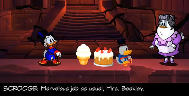 DuckTales Remastered Mrs. Beakley Locations Guide