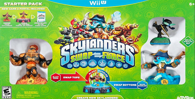 Skylanders Swap Force Characters List