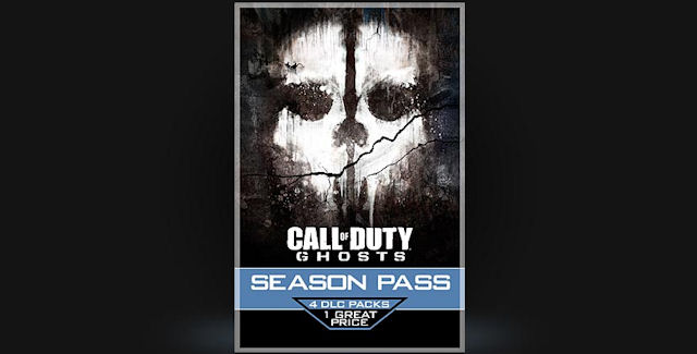 Call of Duty Ghosts DLC Season Pass
