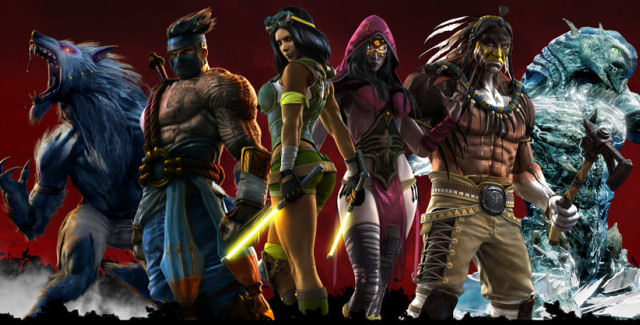 Killer Instinct 2013 Characters List