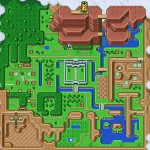 Zelda: A Link to the Past Map