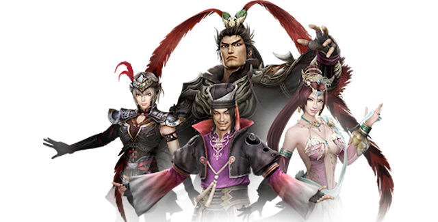 Dynasty Warriors 8: Xtreme Legends Unlockable Characters