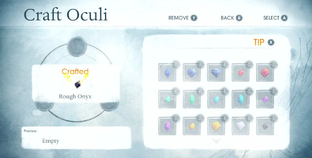 Child of Light Oculi Crafting Guide