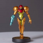 Amiibo Samus Figure Close-Up Wii U Nintendo