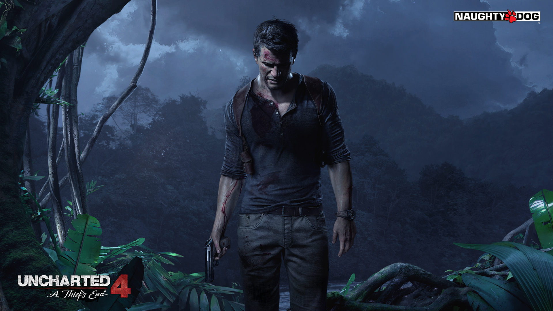 Uncharted 4 Wallpaper 1920×1080