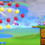 Kirby And the Rainbow Curse Collecting Stars Gameplay Screenshot Wii U