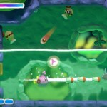 Kirby And the Rainbow Curse Submarine Kirby Powerup Screenshot Wii U