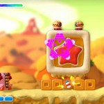 Kirby And the Rainbow Curse Tank Kirby Powerup Screenshot Wii U