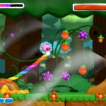 Kirby And the Rainbow Curse Whispy Woods Boss Gameplay Screenshot Wii U