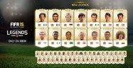 FIFA 15 Legends List