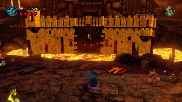 Lego Batman 3 Red Brick 14: Fast Build Location
