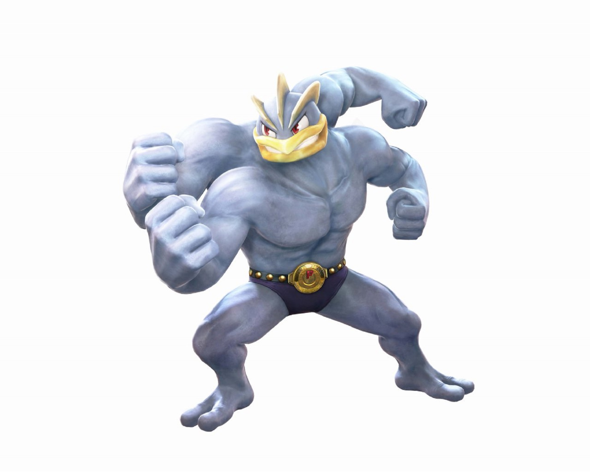 Machamp Pokken Tournament Artwork