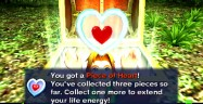 Heart Pieces Majora's Mask 3DS Zelda Collected Dialog Box Gameplay Screenshot