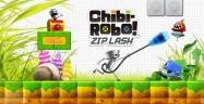 Chibi Robo Zip Lash 3DS Artwork Official Nintendo