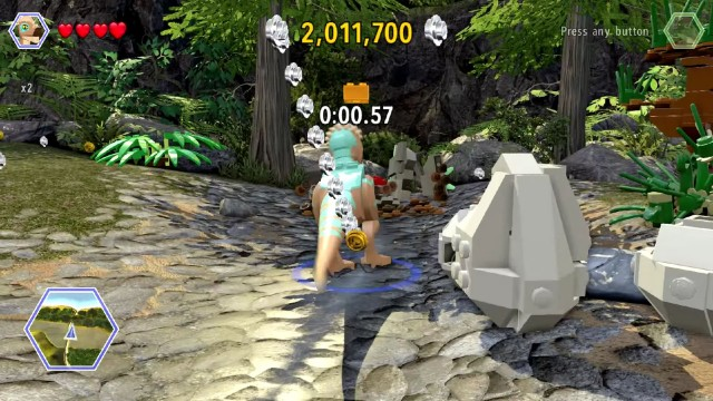 Lego Jurassic World Red Brick 20: Helium Voices Location