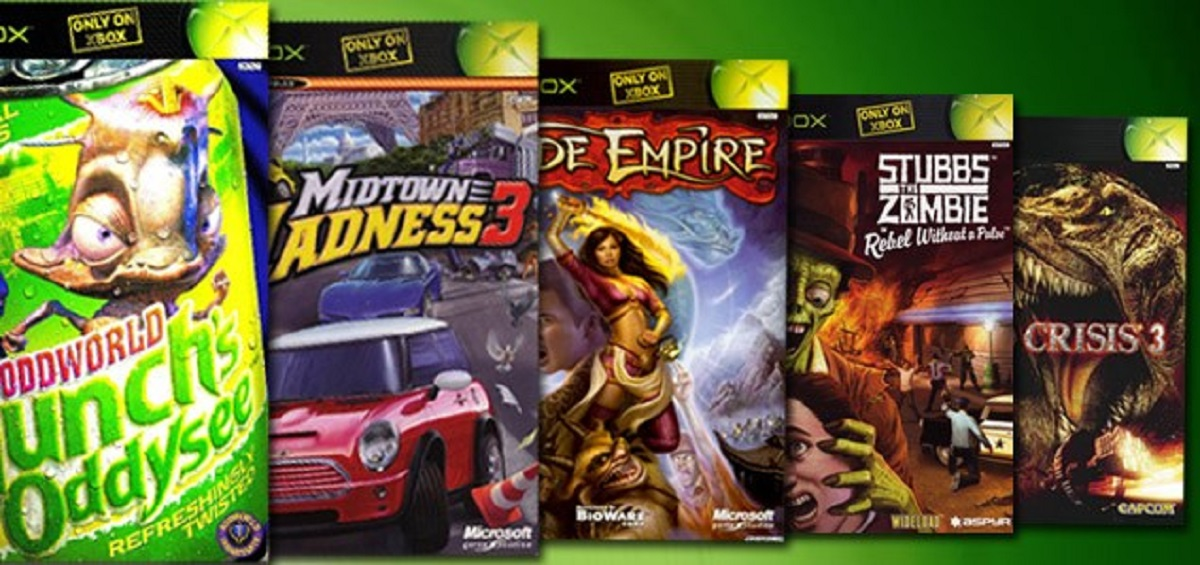 Original Xbox Games On Xbox 360 : Only on original xbox games banner artwork