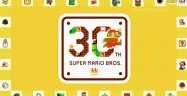 Super Mario Bros. 30th Anniversary Logo Artwork Official Nintendo