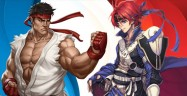 Super Smash Bros Wii U & 3DS Ryu & Roy artwork