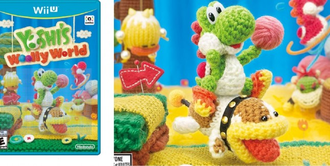 Amazoncom Yoshis Woolly World  Wii U Nintendo of