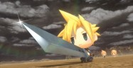 World of Final Fantasy Cloud Buster Sword Gameplay Screenshot