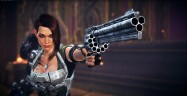 Bombshell Character Shelly Revolver Artwork PS4 Xbox One PC