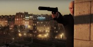 Hitman 2015 aka Hitman 6 Gameplay Screenshot Wall Peek PS4 Xbox One PC