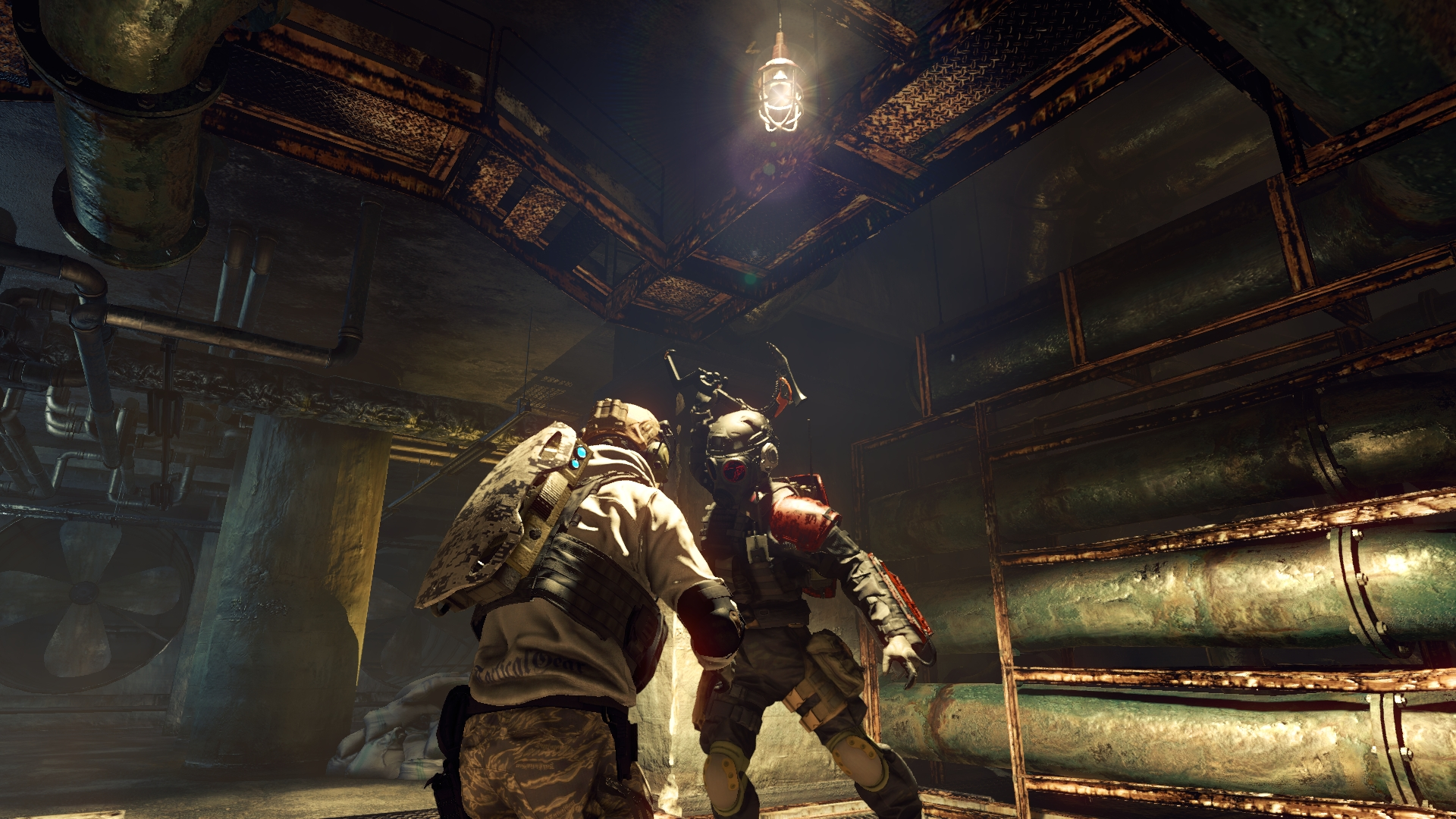 Evil Umbrella Corps Gameplay Screenshot Brainer Melee Attack PS4 PC