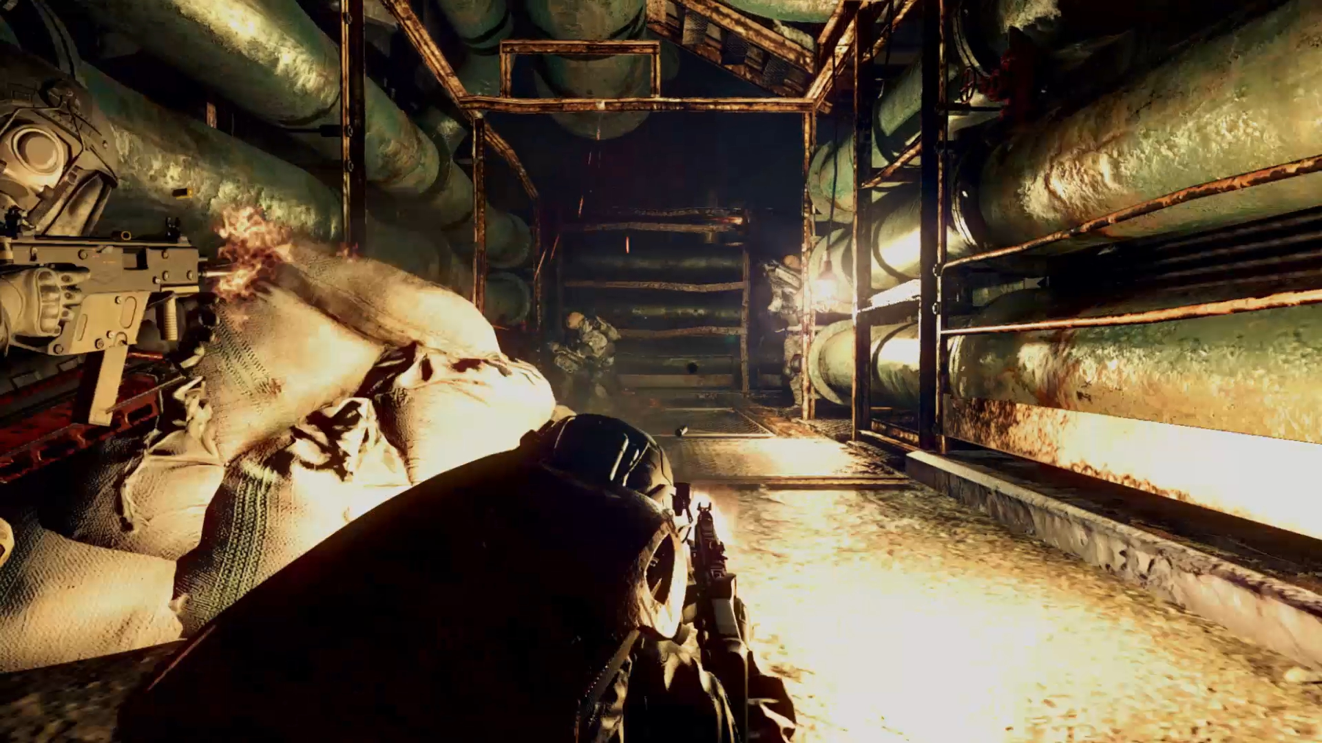 Resident Evil Umbrella Corps Gameplay Screenshot Fortified PS4 PC