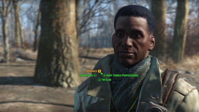 maccready fallout 4 likes and dislikes in a relationship