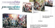Fire Emblem Fates Collectors Edition 3DS Artbook Carrying Pouch Conquest Birthright Revelation Logos Box Artwork