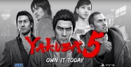 Yakuza 5 Releases On PS3 Out Now USA $40 Dollars Artwork Official